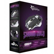 Mouse Gaming USB 4800dpi 7 Tasti Nero Shaka Zulu GM-5001 - White Shark - ICSB-GM5001