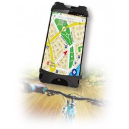 Supporto per Smartphone da bicicletta in silicone   - Techly - I-SMART-CLIP
