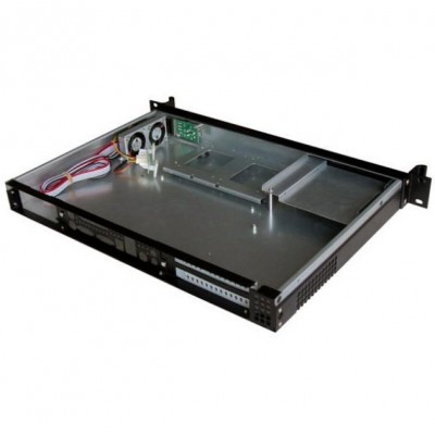 Chassis Rack 19''/Desktop 1U Ultra Compatto con Alimentatore - Techly - I-CASE IPC-130-2