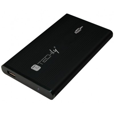 "Box Hard Disk Esterno IDE 2.5"" USB 2.0 Nero - Techly - I-CASE IDE-251TY-0"