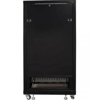 "Armadio Rack 19"" 600x600 27U per Audio Video Nero - Techly Professional - I-CASE AV-2127BKTY-6"