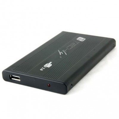 "Box Esterno HDD/SSD SATA 2.5"" USB 2.0 - Techly - I-CASE SU-25-WN-2"