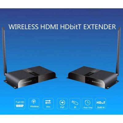 Kit Wireless HDMI Full HD via HDbitT fino a 50m - Techly - IDATA HDMI-WL50-3