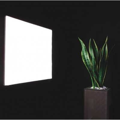 Kit 2 Pannelli Luminosi a LED Flat 60x60cm 42W Bianco Neutro A+ - Techly - I-LED-P66-F442W-7