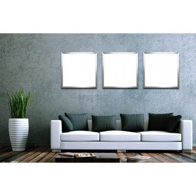 Kit 2 Pannelli Luminosi a LED Flat 60x60cm 42W Bianco Neutro A+ - Techly - I-LED-P66-F442W-4