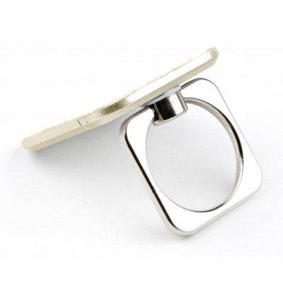 Anello e Supporto per Smartphone Oro - Techly - I-SMART-RINGG-2
