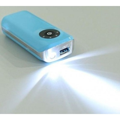 Carica Batterie Power Bank per Smartphone 5200mAh USB - Techly - I-CHARGE-5200TY-7