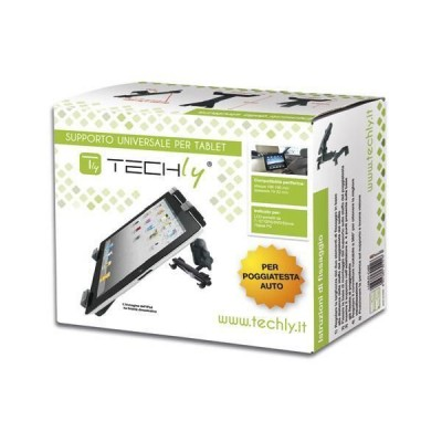 "Supporto universale da poggiatesta auto per Tablet 7-10.1"" - Techly - I-TABLET-CAR2-1"