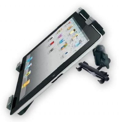 "Supporto universale da poggiatesta auto per Tablet 7-10.1"" - Techly - I-TABLET-CAR2-0"