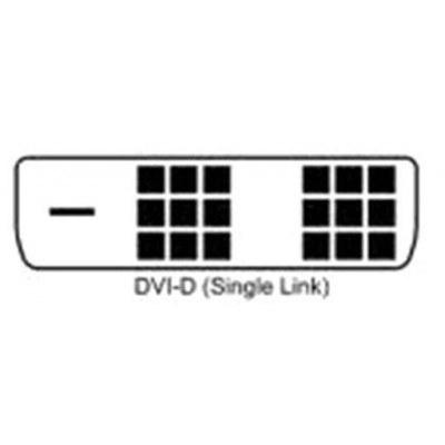 Cavo Monitor DVI digitale M/M Single Link 5m (DVI-D) - Techly - ICOC DVI-8050-2