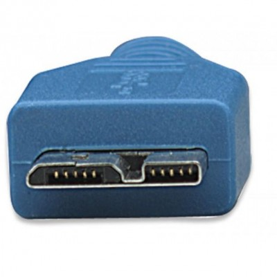Cavo USB 3.0 Superspeed A/Micro B 0,5 m - Techly - ICOC MUSB3-A-005-3