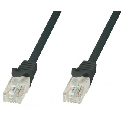 Cavo di Rete Patch in Rame Cat.6 Nero UTP 10m - Techly Professional - ICOC U6-6U-100-BKT-1
