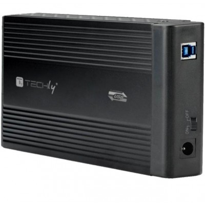 "Box esterno HDD SATA 3.5"" USB 3.0  - Techly - I-CASE SU3-35-2"