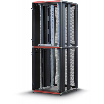 "Armadio Server Rack 19"" 800x1000 2x20 Unita' Nero serie MultiSPACE - Techly Professional - I-CASE EU-22081BK-3"