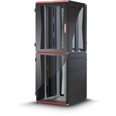 "Armadio Server Rack 19"" 800x1000 2x20 Unita' Nero serie MultiSPACE - Techly Professional - I-CASE EU-22081BK-2"