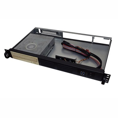 Chassis Rack 19''/Desktop 1U Ultra Compatto 250 mm - Techly - I-CASE IPC-125D-3