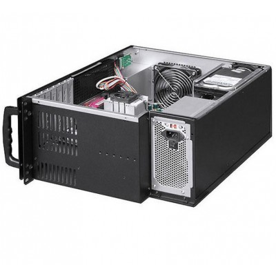 "Chassis Industriale Rack 19""/Desktop 4U Ultra Compatto Nero - Techly - I-CASE MP-P4HX-BLK6-4"