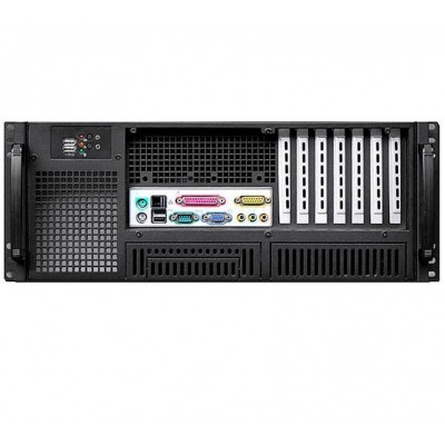 "Chassis Industriale Rack 19""/Desktop 4U Ultra Compatto Nero - Techly - I-CASE MP-P4HX-BLK6-3"
