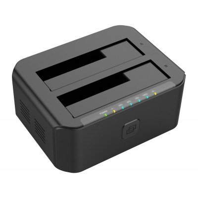 "USB 3.0 Docking station 2 HDD / SSD SATA 2.5"" / 3.5"" - Techly Np - I-CASE SATA-TST53-1"