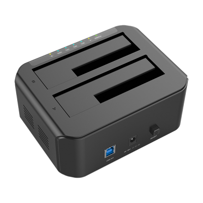 "USB 3.0 Docking station 2 HDD / SSD SATA 2.5"" / 3.5"" - Techly Np - I-CASE SATA-TST53-2"
