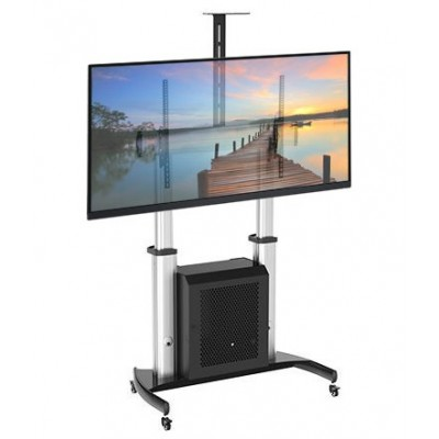"Supporto a Pavimento con Cabinet per TV LCD/LED/Plasma 60-100"" - Techly Np - ICA-TR29-1"