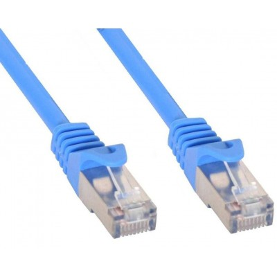 Cavo di rete Patch in rame Cat.6 Blu SFTP LSZH 0,5m - Techly Professional - ICOC LS6-005-BLT-1