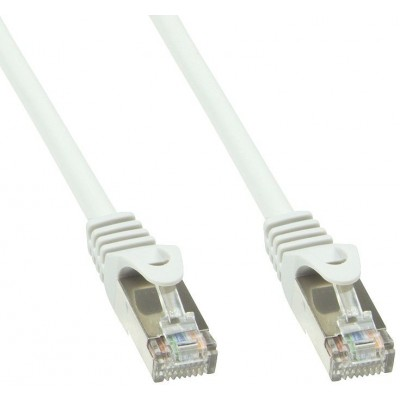 Cavo di rete Patch in rame Cat.6 Bianco SFTP LSZH 3m - Techly Professional - ICOC LS6-030-WHT-1