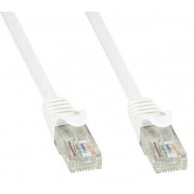 Cavo di Rete Patch in Rame Cat.6 Bianco UTP 1m - Techly Professional - ICOC U6-6U-010-WHT-2