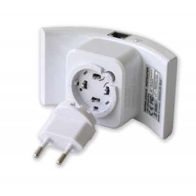 Ripetitore Wireless 300N (Range Extender) con WPS - Techly - I-WL-REPEATER-6