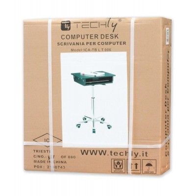 Tavolino per Notebook Nero - Techly - ICA-TB LT006-1