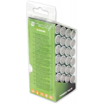 Multipack 24 Batterie High Power Stilo AA Alcaline LR06 1,5V - Techly - IBT-KAL-LR06-B24T-3