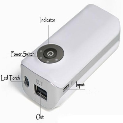 Carica Batterie Power Bank per Smartphone 4000mAh USB - Techly - I-CHARGE-4000TY-6
