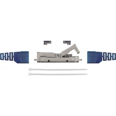 Accoppiatore Inline Toolless Schermato per Cat 6A - Techly Professional - IWP-8P8C-COUPS6ATY-1