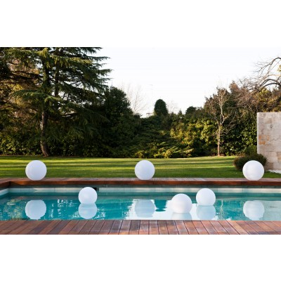 Lampada LED Multicolor da Arredo Sfera Large - Techly - I-LED BALL-L-7