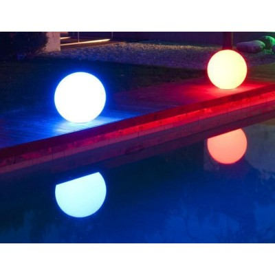 Lampada LED Multicolor da Arredo Sfera Large - Techly - I-LED BALL-L-10