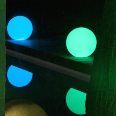 Lampada LED Multicolor da Arredo Sfera Large - Techly - I-LED BALL-L-5