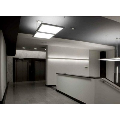 Kit 2 Pannelli Luminosi a LED Flat 60x60cm 42W Bianco Neutro A+ - Techly - I-LED-P66-F442W-5