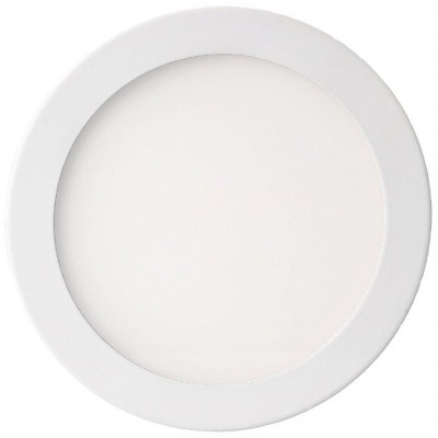 "Pannello Luminoso a LED Rotondo con Diametro 8"" 24W Bianco Neutro - Techly - I-LED-PAN-26W-NW8-1"