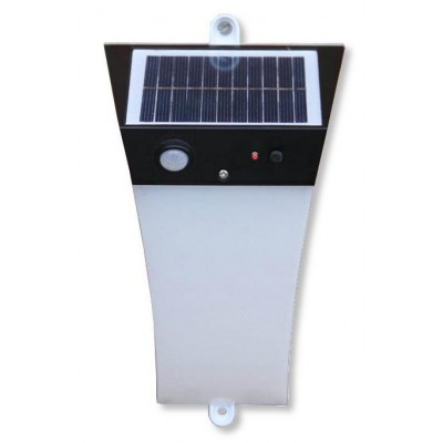 Applique LED Solare a Muro da Esterno con Sensore di Movimento - Techly Np - I-LAMP-SLE32-1