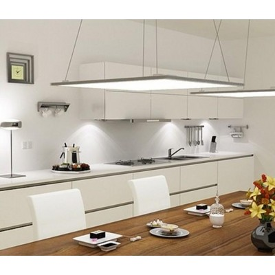 Pannello Luminoso a LED 30 x 30 cm 20W Bianco Caldo - Techly - I-LED-PAN-20W-WWA-6
