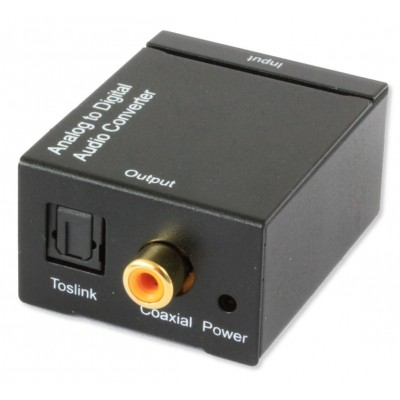 Convertitore Audio da analogico a digitale SPDIF - Techly Np - IDATA SPDIF-2-1