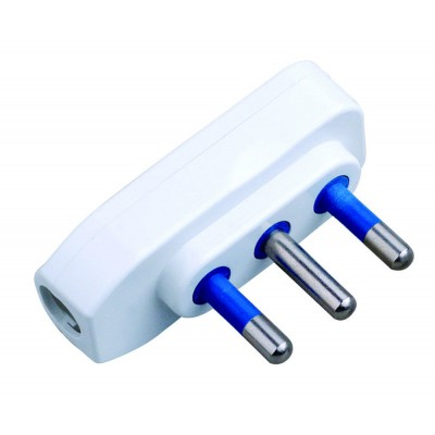 Spina ribassata 2P+T 16A Bianco - Techly - IPW-SP16-WH9-1