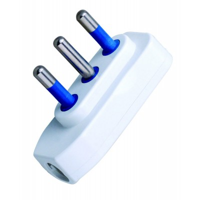 Spina ribassata 2P+T 16A Bianco - Techly - IPW-SP16-WH9-2