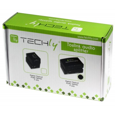 Splitter Audio Digitale Toslink 4 Porte - Techly - IDATA TOS-SP4-1
