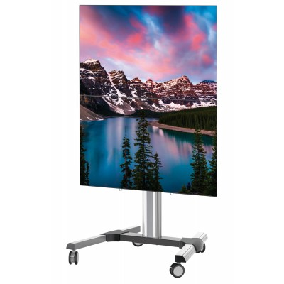 """Supporto a Pavimento per 2 TV LCD/LED 45-55"""" - Techly - ICA-TR 246W-1"""