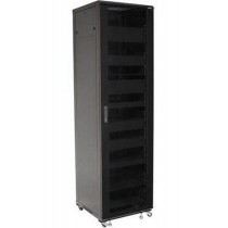 Armadio Rack 19 600x600 44U per Audio Video Nero-Techly Professional-I-CASE AV-2144BKTY