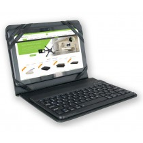 "Custodia con Tastiera Bluetooth 3.0 Removibile per Tablet 9.7""/10.1"" - Techly - ICTB1001"