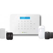 Sistema di allarme SMS/GSM wireless TLY ALARM1 - Techly - I-ALARM-KIT001