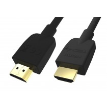Cavo HDMI™ High Speed 2.0 A/A M/M 0,5m Nero - Techly - ICOC HDMI2-4-005T
