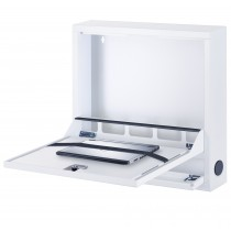 Box di Sicurezza per Notebook e Accessori per LIM Basic Bianco RAL 9016 - Techly Professional - ICRLIM04W2